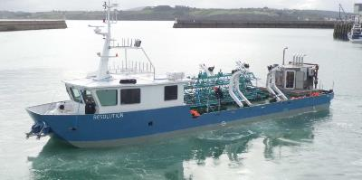 Workboat Sismique 25m quad jets